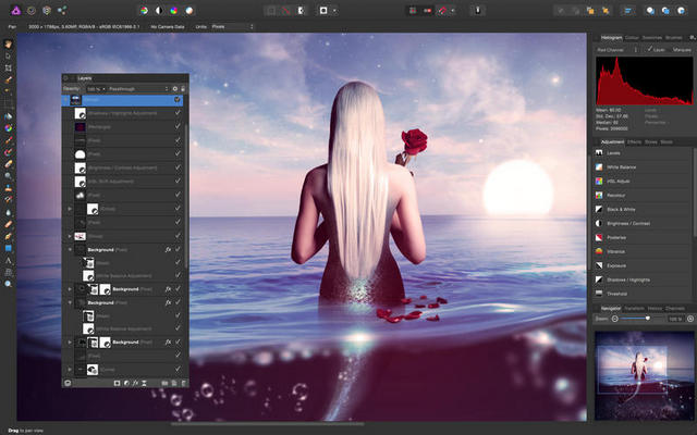 affinity photo windows 1.3.5 官方pc版