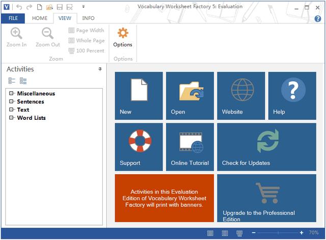 Vocabulary Worksheet Factory 5 5.1.0.1 官方免费破解版