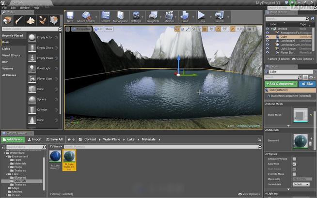 Unreal Engine 4 虚幻引擎 官方版