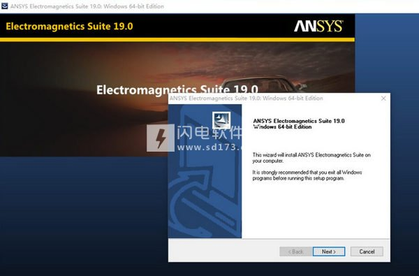 ANSYS Electromagnetics Suite 19 安装破解教程